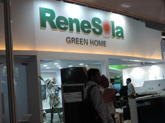 ReneSola booth