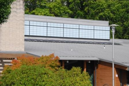 SolarWorld solar panels at Portland's Southwest Community Center