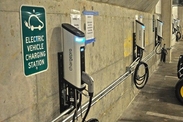 SemaConnect EV charging stations