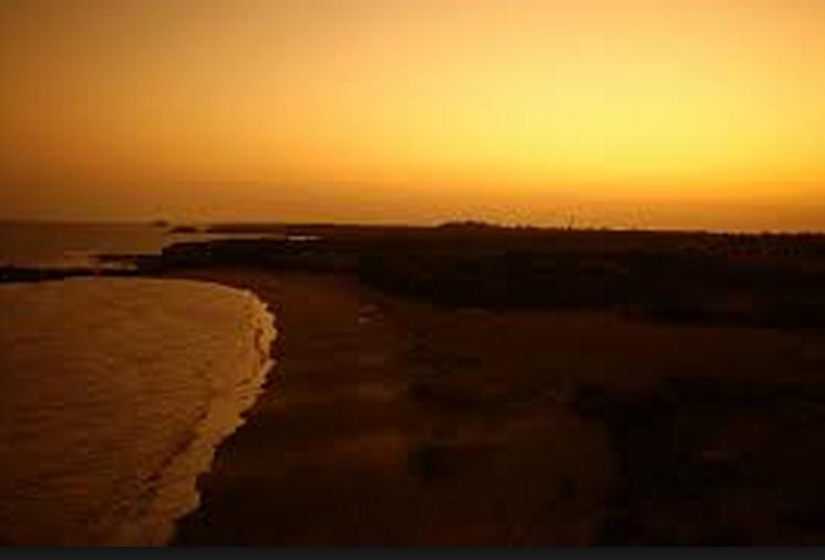a beach in gujarat