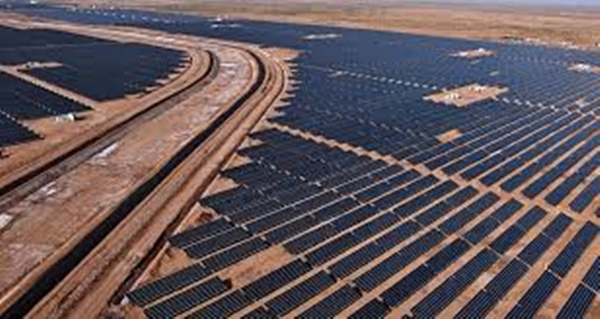 Solar Park, Gujarat, India