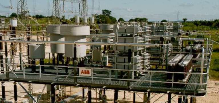 A substation from ABB