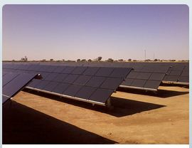 Rays Power project in Rajasthan