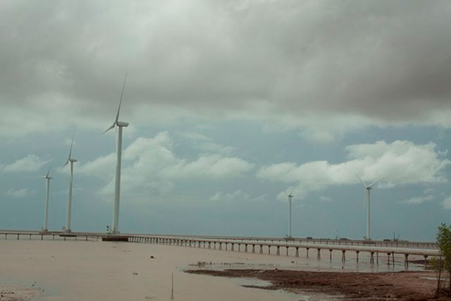 Cong Ly Vietnam Bac Lieu Wind Farm