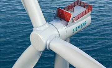 Siemens latest wind turbine SWT-7.0-154