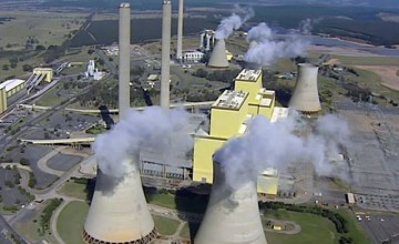 AGL's coal fired power station