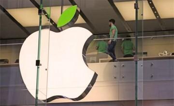 Apple 100 percent renewable energy powered