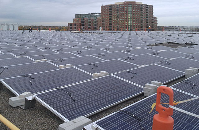 Atlantic Solar rooftop installation Ontario