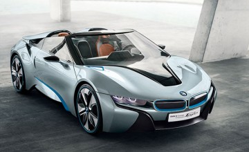 BMW i8 World Green Car