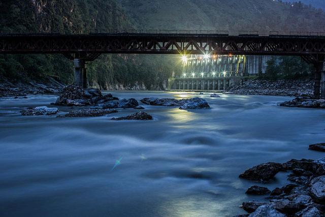 Kali Gandaki hydel power station