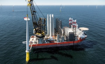 Siemens powers DanTysk offshore wind plant in German North Sea