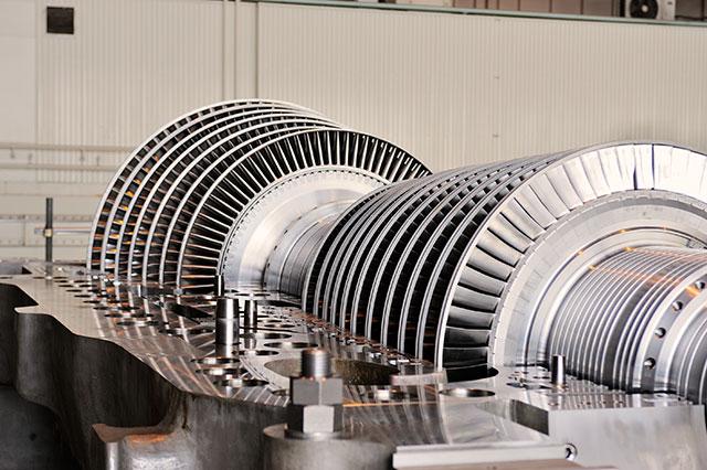 Toshiba steam turbine