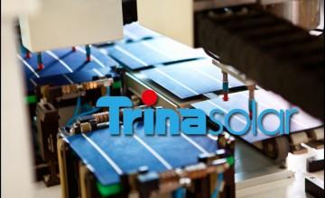 Trina sets module efficiency record