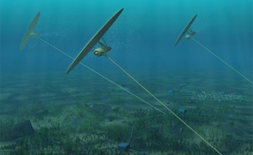 Deep Green project kites