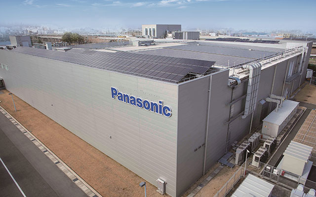 Panasonic factory at Shiga