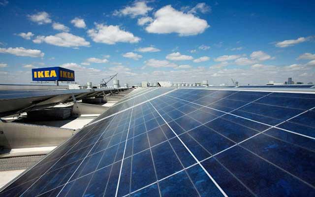 IKEA solar power project