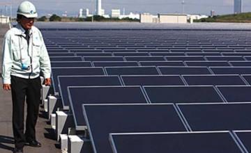 Japan solar energy downtrend