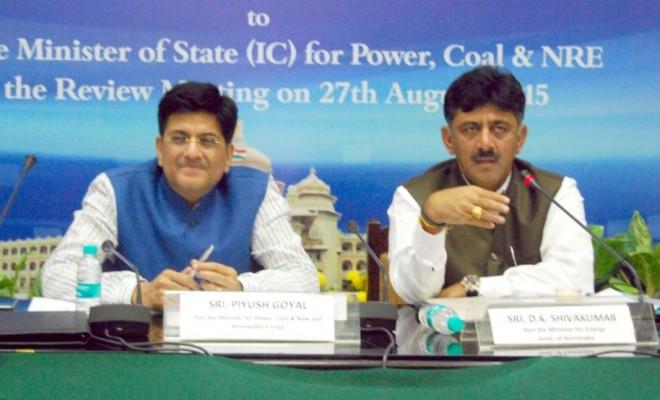 Union Power Minister Piyush Goyal