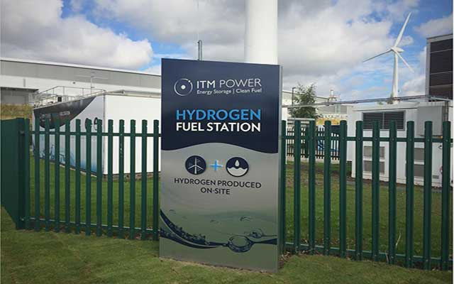 ITM Power hydrogen refueling station