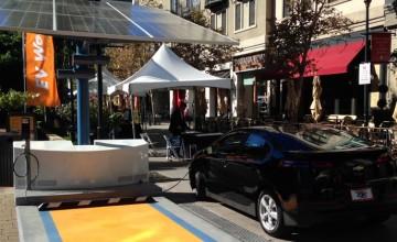 Envision Solar EV chargers