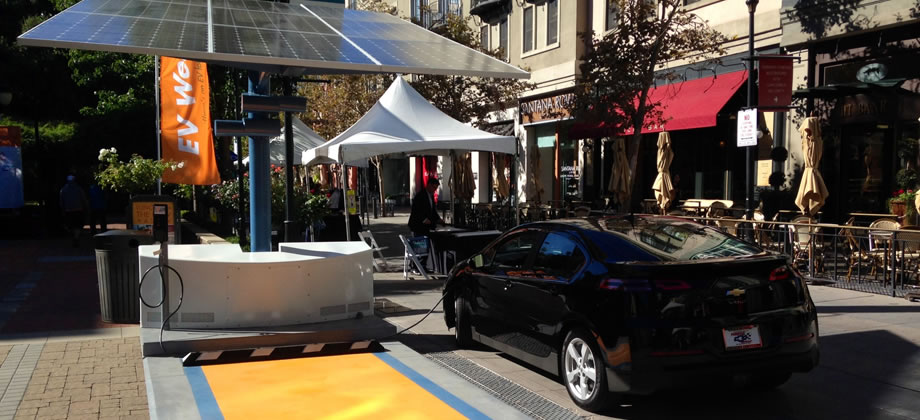 Envision Solar EV chargers