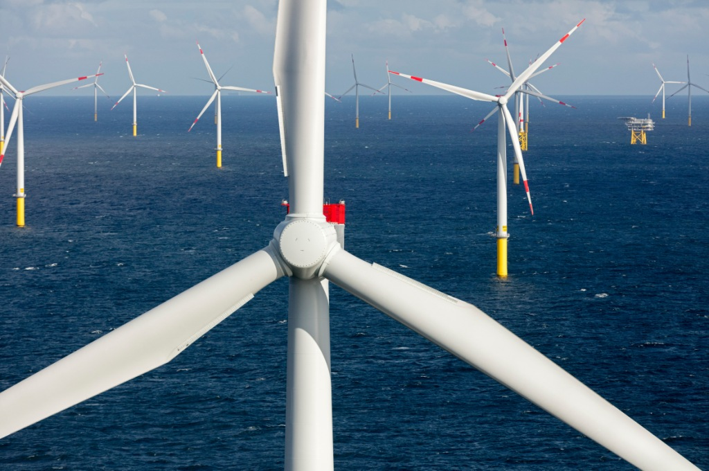 Siemens and Borkum Riffgrund 1 offshore wind plant