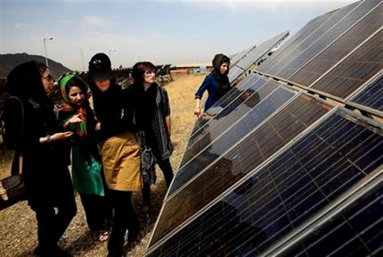 Solar project in Iran