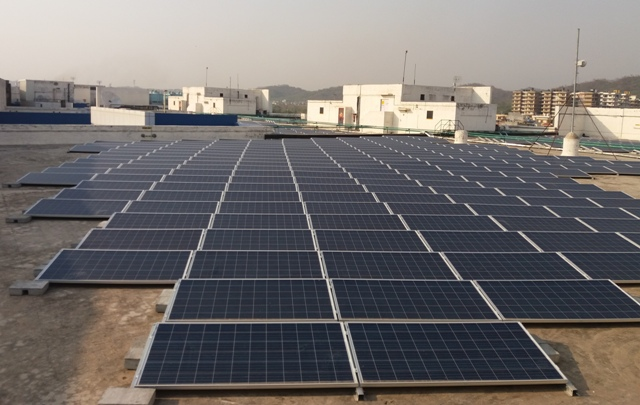 Hartek Power rooftop solar project in Chandigarh