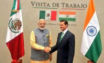 Enrique Peña Nieto meets Narendra Modi