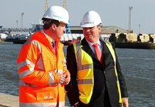 Siemens baut Offshore-Windkraft-Fabrik in Großbritannien / Siemens to construct factory for offshore wind power in Great Britain