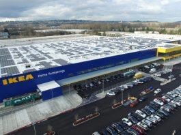 IKEA_installs_rooftop_solar_array