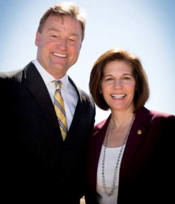 U.S. Senators Dean Heller and Catherine Cortez Masto (D-NV) joined leaders of the Moapa Band of Paiutes for a Commissioning Ceremony of the 250MW Moapa Southern Paiute Solar Project