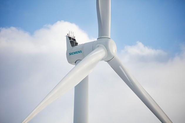 Siemens gearless wind turbines in France