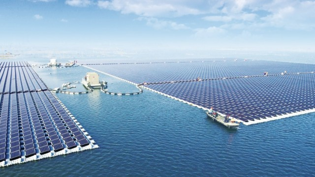 40MW Floating PV Power Plant