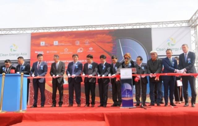 Tsetsii Wind Farm Operation Launch Ceremony