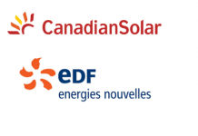 Canadian Solar and EDF energies