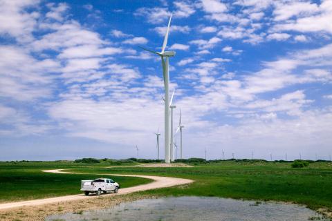 Baffin wind farm by Avangrid