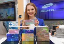 Samsung SDI battery for e-vehicles