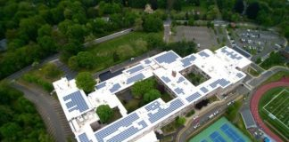 A school project from Greenskies Renewable