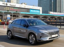 Hyundai Self-driven Fuel Cell Electric Vehicle