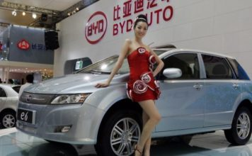 BYD e-vehicle China