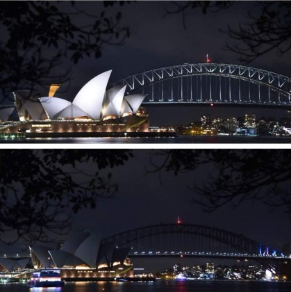 Earth Hour 2018 in Australia