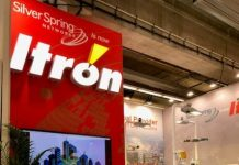 Itron at a trade show