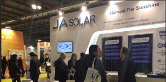 JA Solar in Jordan