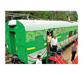 Indian Railways commissions emission test car
