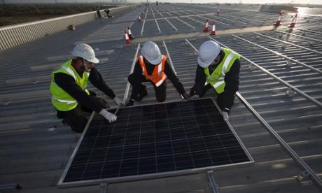 solar panel service