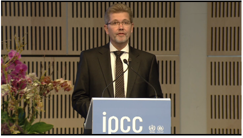 IPCC Synthesis Report opening ceremony