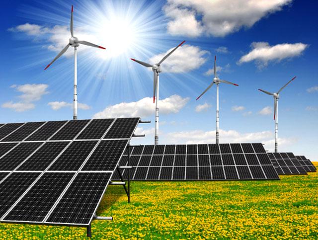 Green energy mix
