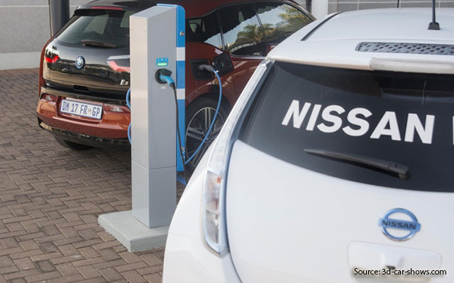 BMW, Nissan national charging grid