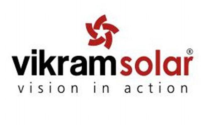 Vikram Solar logo